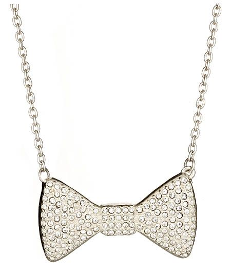 Silver Pave Bowtie Necklace: Black Ties, Silver Pave, Bows Ties, Bowties Necklaces Very, Bows Ti Necklaces, Bowties Necklace Very, Silver Bowties, Bowtie Necklace, Pave Bowties