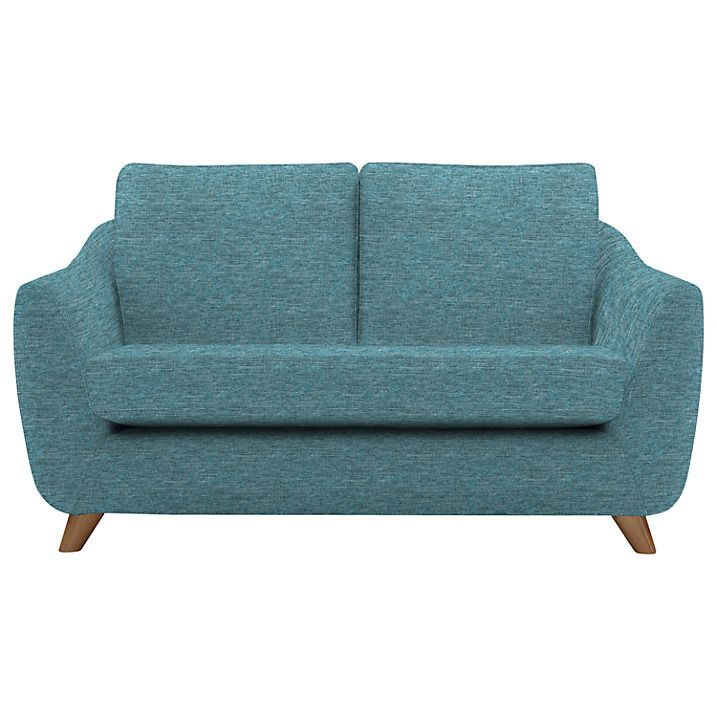 Buy G Plan Vintage The Sixty Seven Small Sofa, Fleck Blue Online at johnlewis.com
