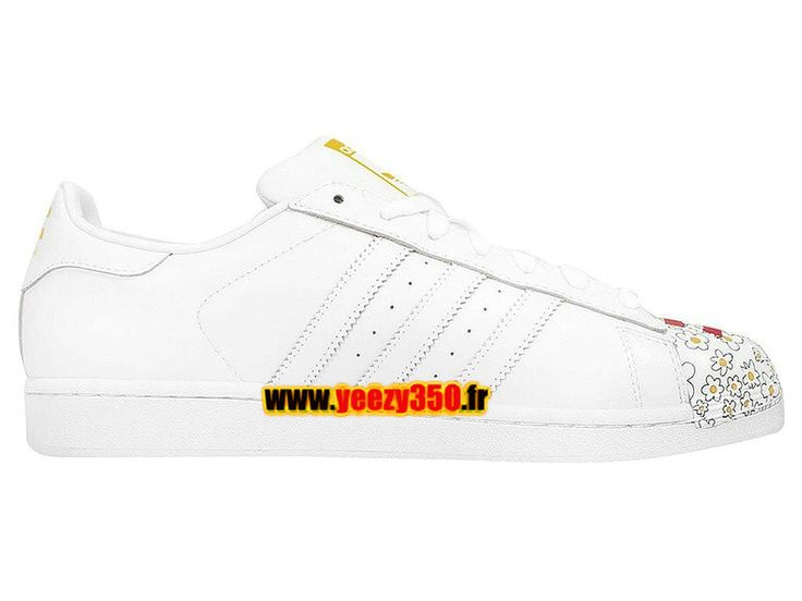 Adidas Originals Superstar Chaussures Adidas Pas Cher Pour Homme/Femme Blanc S83368