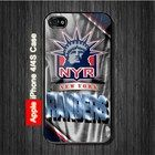 New York Rangers NHL Sports Hockey iPhone 4, 4S Case - Black Case #iPhone4 #iPhone4 #PhoneCase #iPhone4Case #iPhone4Case