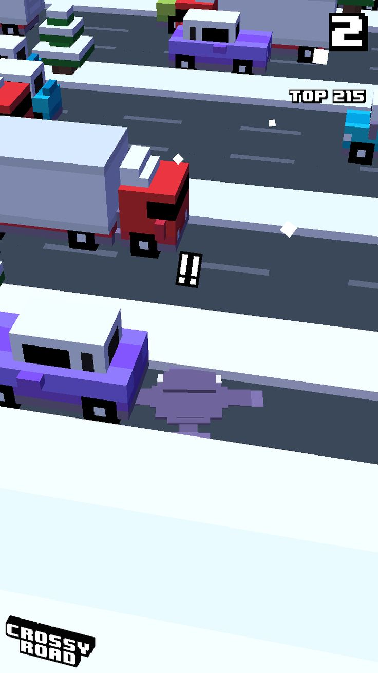 2 on #crossyroad. My top is 215.