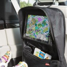 Organizador coche con funda tablet.Genial para viajar con niños.Disponible en petittandem.com 35 €