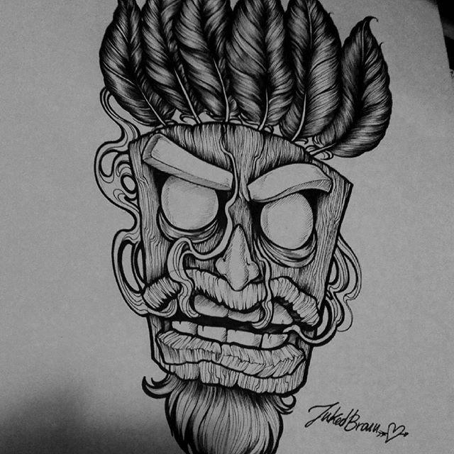 23 best tattoos images on pinterest nice tattoos for Aku aku tattoo