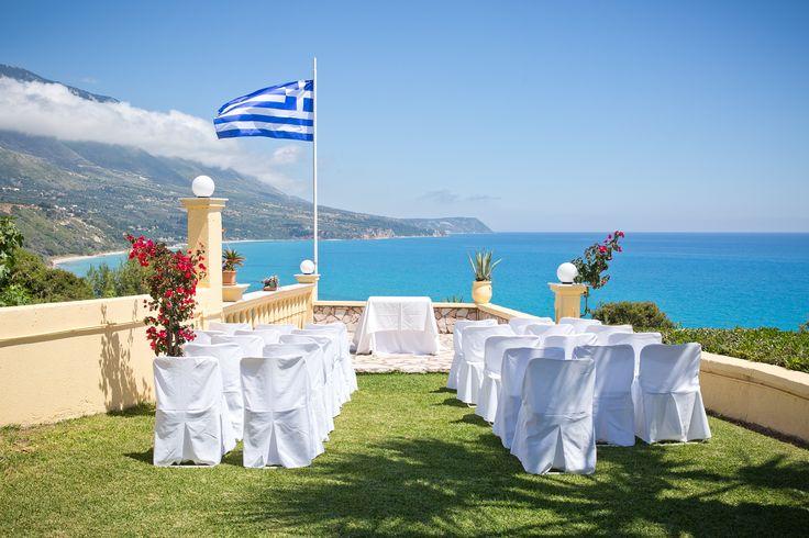 cleopatra's weddings Kefalonia island kefalonia wedding venue