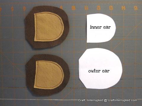Craft, Interrupted: Monkey Ear Headband & Tail Belt Tutorial