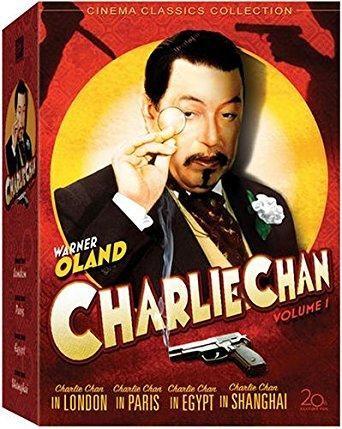 Warner Oland & Pat Paterson & David Howard & Eugene Forde -Charlie Chan Collection - Volume 1 (Charlie Chan in London / Charlie Chan in Paris / Charlie Chan in Egypt / Charlie Chan in Shanghai / Eran Trece)