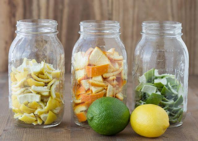 Νόστιμες κ Υγιεινές Συνταγές: Αρωματικό ξύδι εσπεριδοειδών για να καθαρίζετε το σπίτι σας