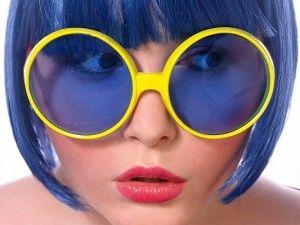 Okulary imprezowe Pilotki.Idealne jako dodatek do stroju na wszelkie imprezy, a szczególnie polecane jako nieodłączny gadżet na Wieczór Panieński.