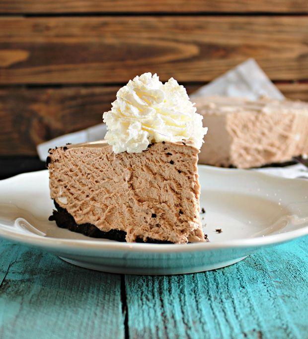 Frozen Hot Chocolate Cheesecake Recipe - RecipeChart.com
