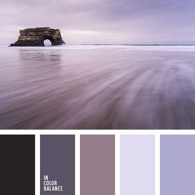 arándano, carbón, color amatista, color berenjena claro, color lila, color púrpura oscuro, colores para decorar la boda, de color púrpura, de lavanda, elección del color para hacer una reforma, gris azulado, lila azulado, lila oscuro, marrón y violeta oscuro, matices de color lila, matices