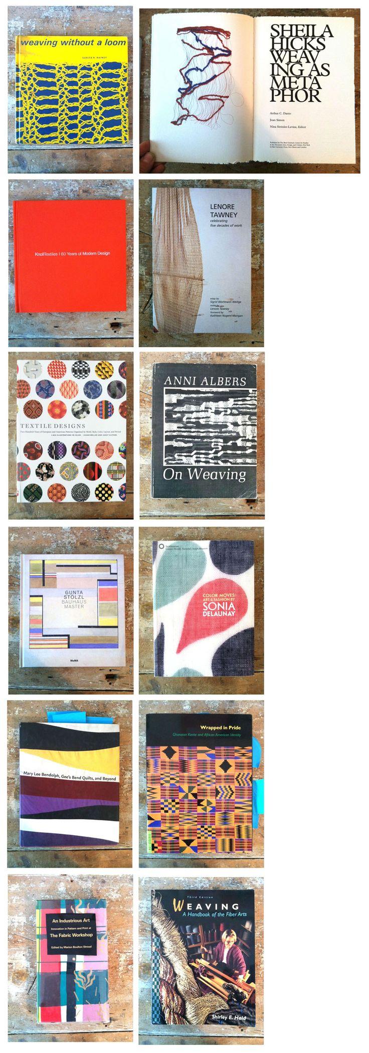 TAC's textile reading list