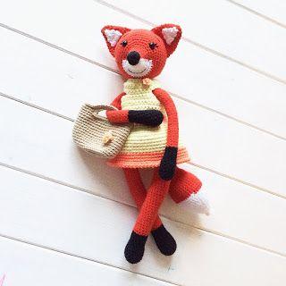 Ami-Domi Land: вяжем амигуруми: Осенняя лисичка