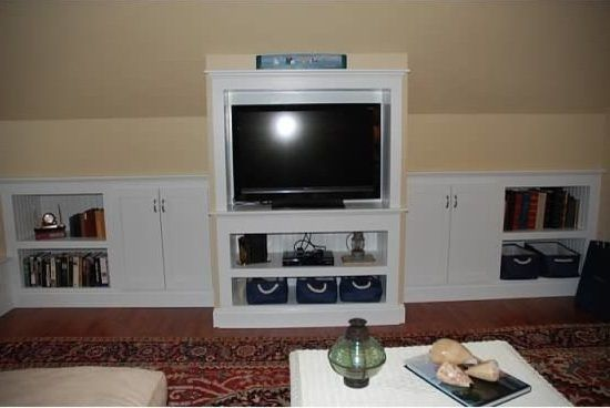 attic renovation ideas home theater beach style with media built in boston furniture repair upholstery professionals
