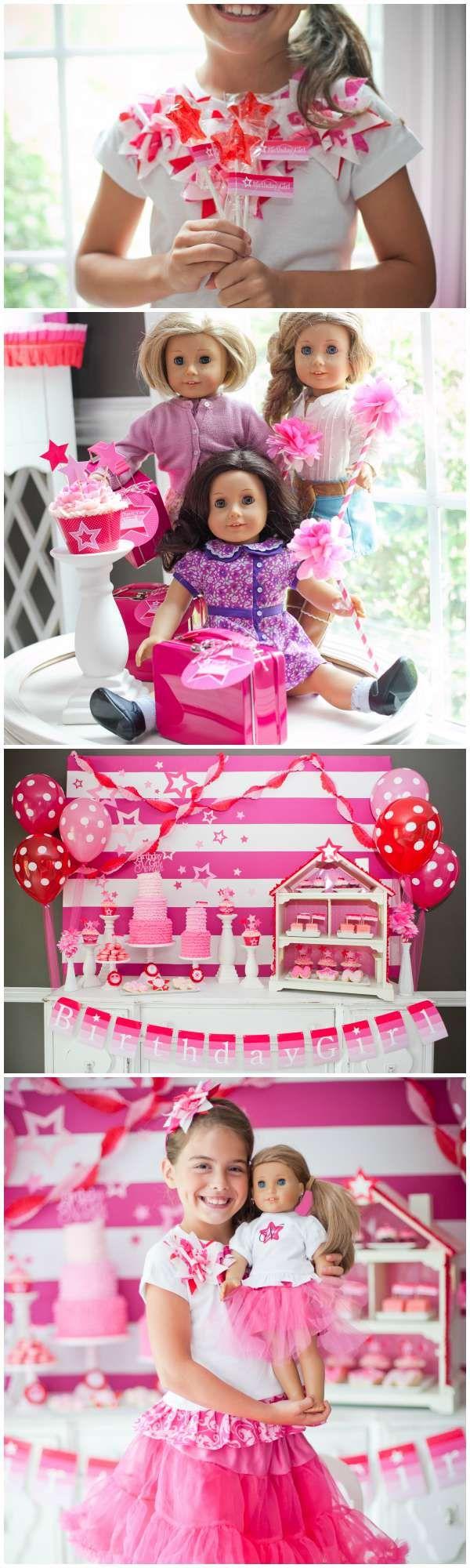 American Girl Birthday Party Ideas