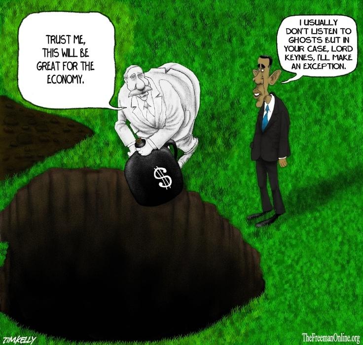 Keynesian Obama.