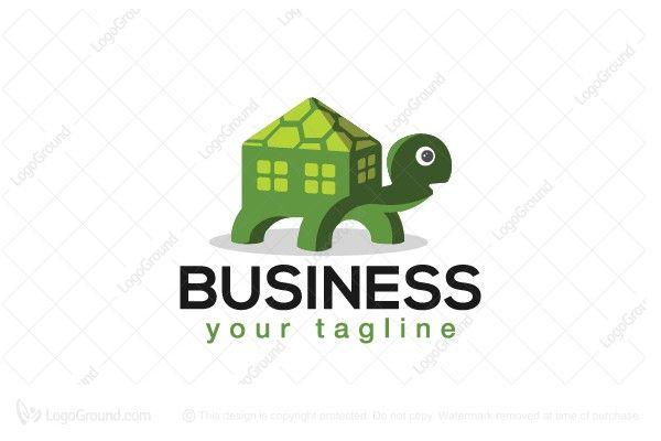 Logo for sale: Turtle Real Estate Logo