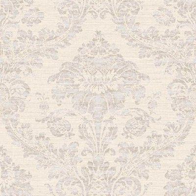 Carte da parato romanza - 9211 disegno damascato a rilievo con fondo spatolato parete e soffitti carta da parati CRISTIANA MASI | Lostudiodelcolore