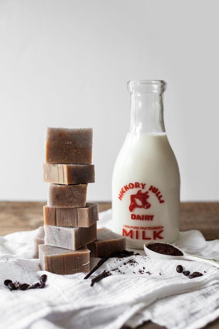 DIY: vanilla bean latte soap