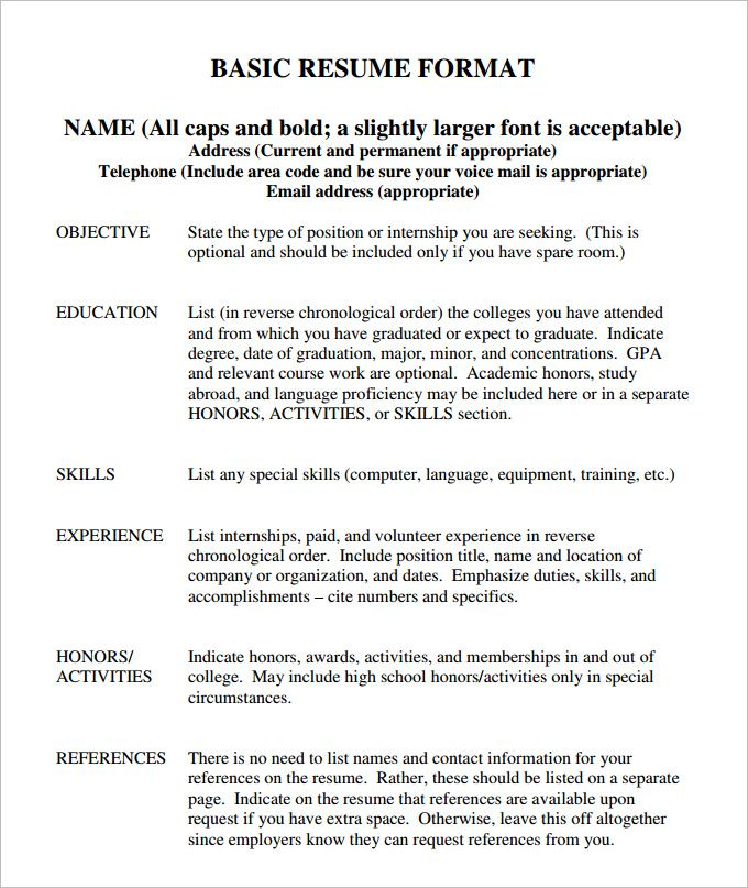 resume format names  format names resume resumeformat