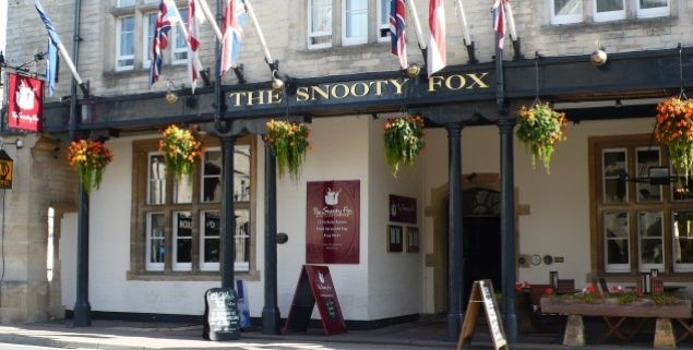 Snooty Fox Hotel - Tetbury, The Cotswolds, England