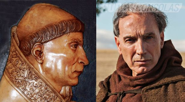 En la serie el Ministerio del Tiempo de Televisión aparece el personaje del Cardenal Cisneros.