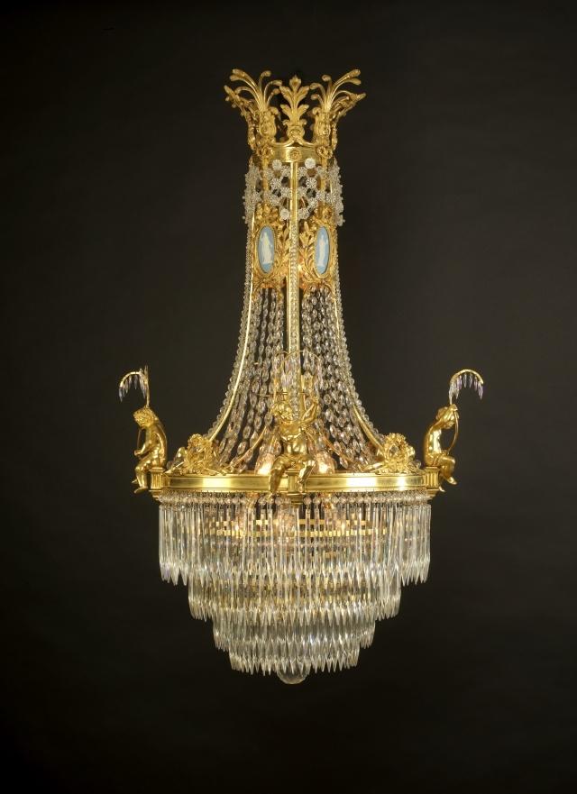 An Important Antique Louis XVI Style Cut