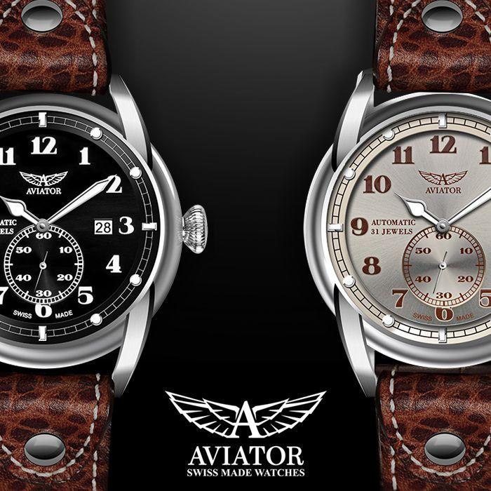 Bristol modelleri, klasik kadran tasarımları ve vintage kahverengi deri kayışlarıyla Bristol uçaklarının kokpitlerini andırıyor.