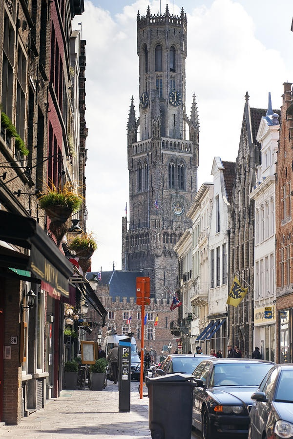 Brugge, Belgium. The best chocolate town in the world