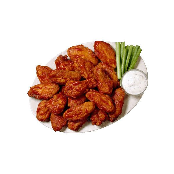 How to make buffalo wings ❤ liked on Polyvore featuring food, food and drink and food & drinks