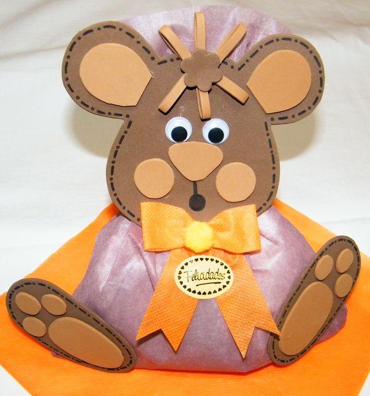 Oso sorpresa para fiesta de cumpleaños - Toña