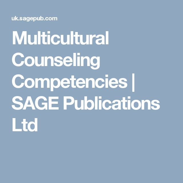 Multicultural Counseling Competencies | SAGE Publications Ltd E INSPECTION COPY ONLY