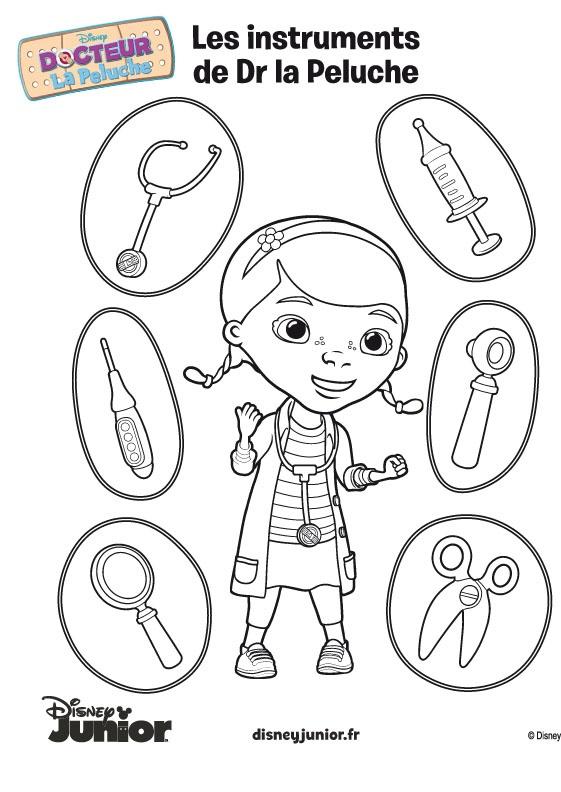 17 best images about docteur la peluche on pinterest coloring pages doc mcs and doc mcstuffins - Docteur la peluche coloriage ...