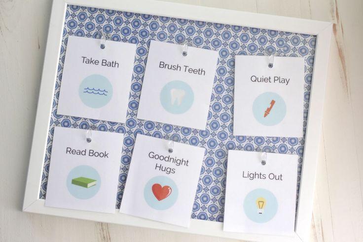 Come creare una routine di andare a dormire e schede stampabili