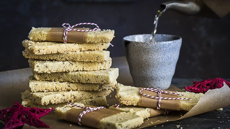 Discover shortbread's savoury side! Cumin, black pepper and ghee shortbread by Kulsum Kunwa