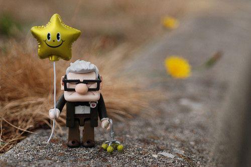DAH! mr. fredricksen has my heart ♥  #pixar, #up