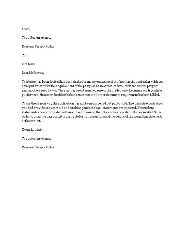 Bank Statement Request Letter  How To Write A Bank Statement