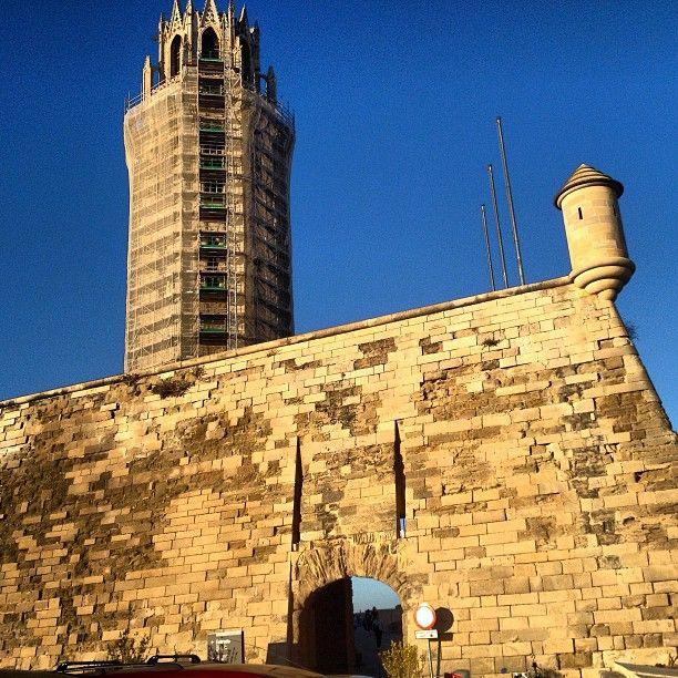 """El símbolo más significativo o emblemático de Lleida la catedral de """"La Seu Vella"""""""