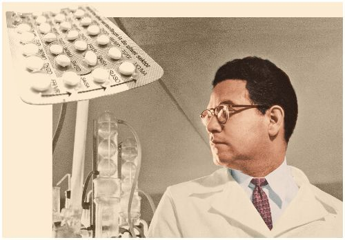 Pill: In 1951, the chemist Luis E. Miramontes (1925-2004), together with scientists and George Rosenkran Carl Djerassi, synthesized norethindrone, the first orally active progestin, base compound most Blow contraceptives