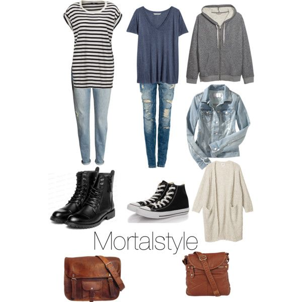 Clary Fray inspired school outfits