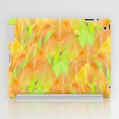 Tulip Fields #108 iPad Case by Gréta Thórsdóttir - $60.00
