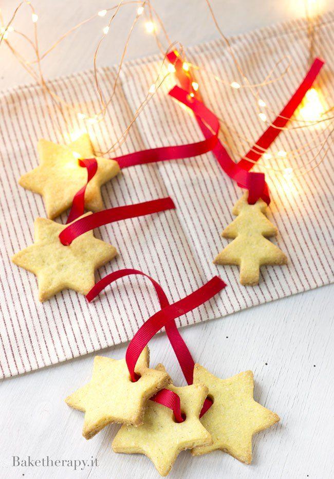 Albero Di Natale Biscotti.Biscotti Per Decorare L Albero Di Natale Bake Therapy Natale Biscotti Alberi Di Natale
