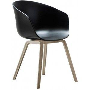 la chaise noire about a chair hay : http://www.ideesboutique.com/chaises/7497-chaise-hay-about-a-chair-noir-et-bois.html