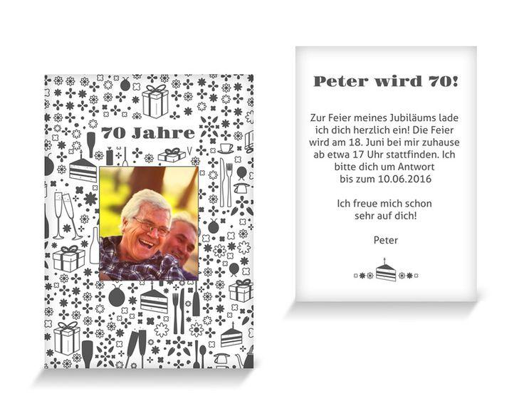 Sekt U0026 Selters Runder Geburtstag Einladung