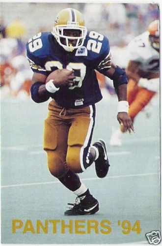 Curtis Martin Pitt Panthers RARE 1994 Pocket Schedule