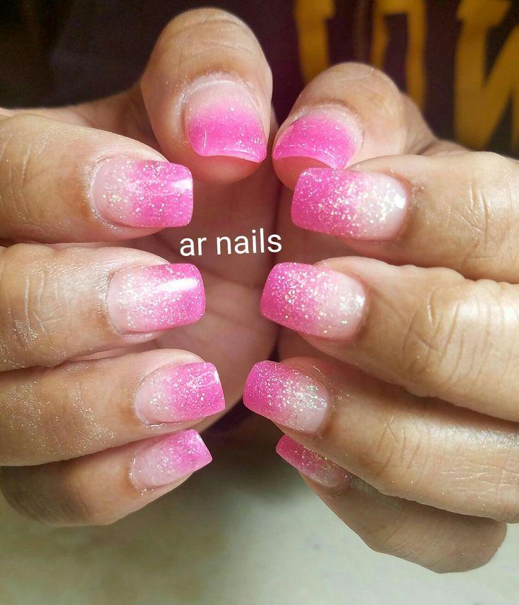 Glitter nail custom #allpowder #arnailsshop #naildesign #nailstylis