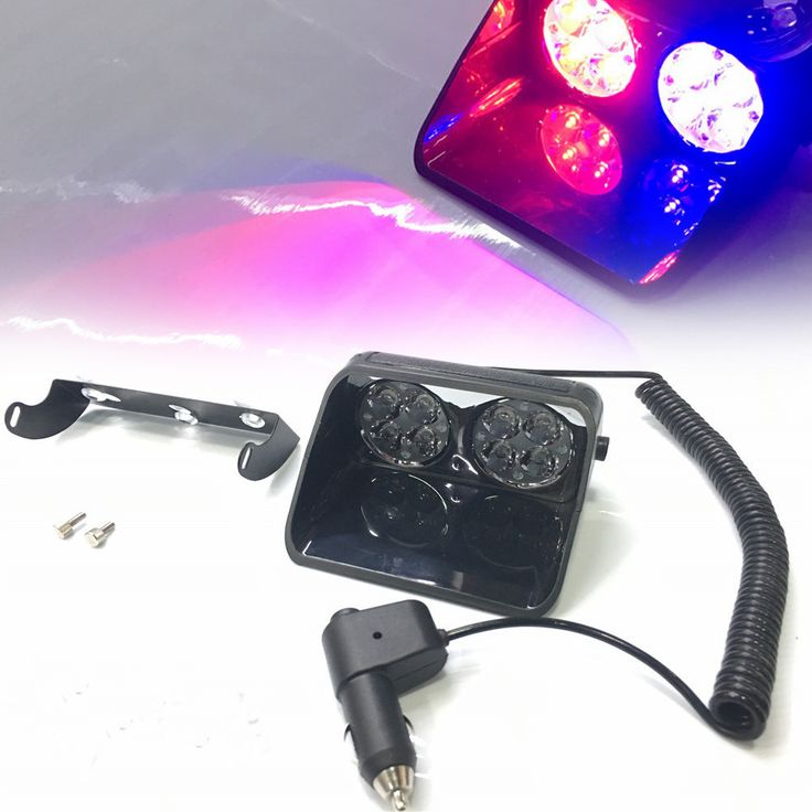 ==> [Free Shipping] Buy Best Red Blue Amber Led Strobe Light 24W Windshield S8 Car Flash Signal Emergency Fireman Police Beacon Warning Lights Online with LOWEST Price | 32699552960