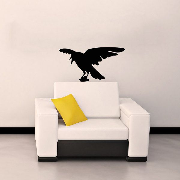 Raven Vinyl Wall Decal