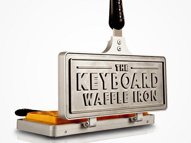 The Keyboard Waffle Iron Giveaway