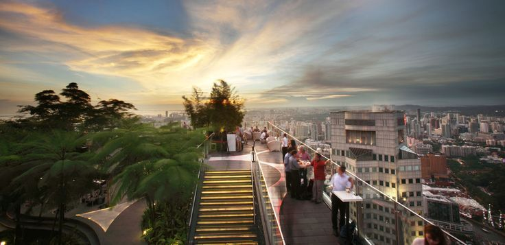 The Fabulous Rooftop Garden Bar 1 Altitude Boasts Some Of Singapore S Most S 1altitud In 2020 Rooftop Garden Rooftop Garden Urban Best Rooftop Bars