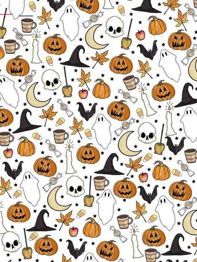 happyfallyallwallpaper i 2020 Halloween bakgrunder